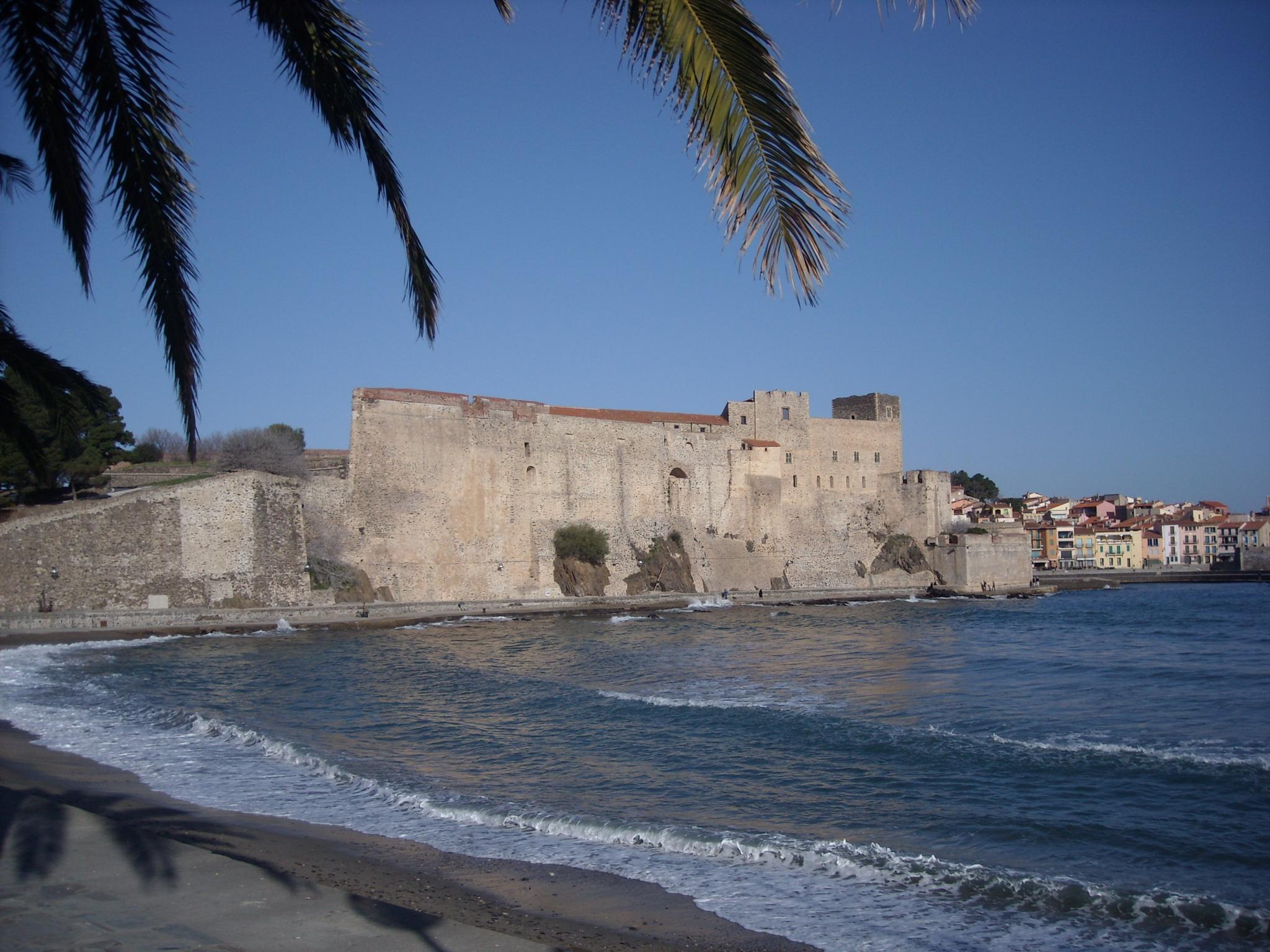Plages - Chateau royal collioure ...